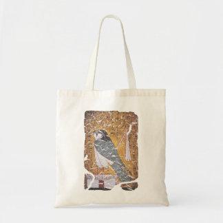 《鳥》ハヤブサblk トートバッグ
