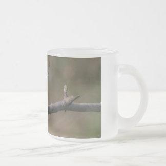 鳥 フロストグラスマグカップ