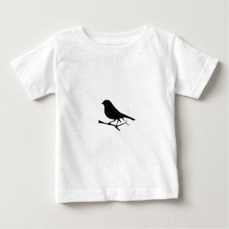 鳥 ベビーTシャツ