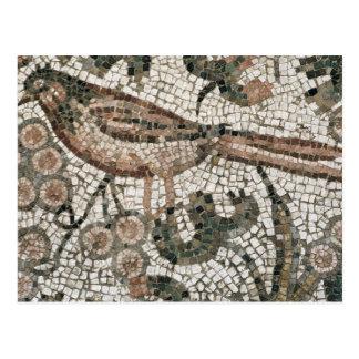 鳥、4世紀な広告(mを描写する舗装に床を張って下さい ポストカード