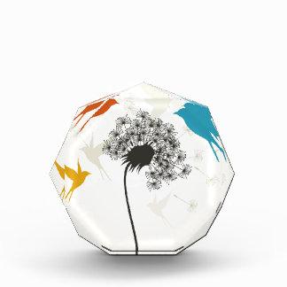 鳥flower3 表彰盾