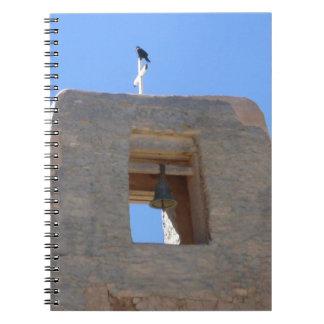 鳥Ontopが付いているAdobe南西鐘桜 ノートブック