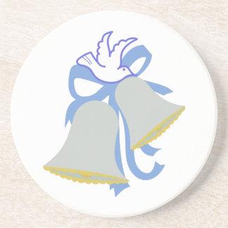 鳩の結婚式の鐘 コースター