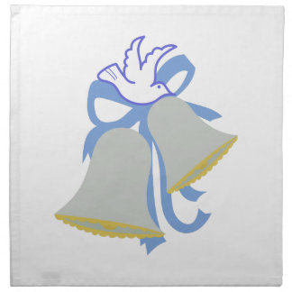 鳩の結婚式の鐘 ナプキンクロス