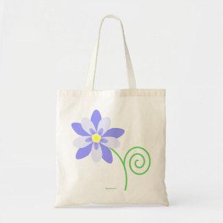 鳩の花のバッグ トートバッグ