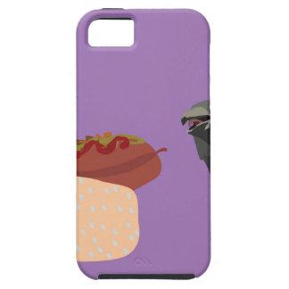 鳩の食べ物 iPhone SE/5/5s ケース