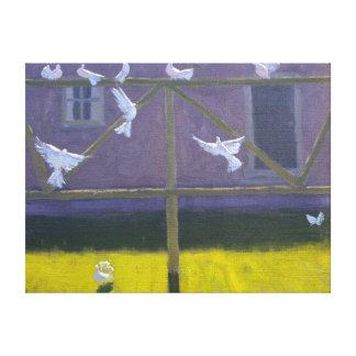 鳩1999年 キャンバスプリント
