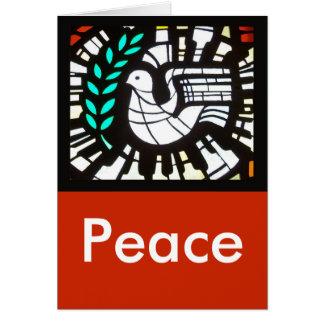 鳩 -- 平和 カード