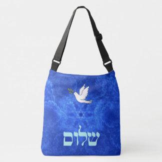 鳩- Shalom クロスボディバッグ