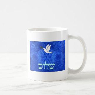 鳩- Shalom コーヒーマグカップ