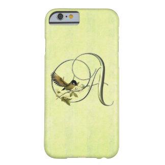 鳴き鳥のイニシャルS BARELY THERE iPhone 6 ケース