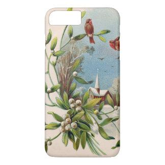 鳴き鳥のヤドリギ教会クリスチャンの十字 iPhone 8 PLUS/7 PLUSケース