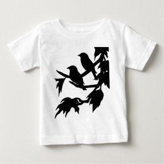 鳴き鳥 ベビーTシャツ