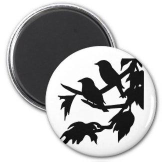 鳴き鳥 マグネット