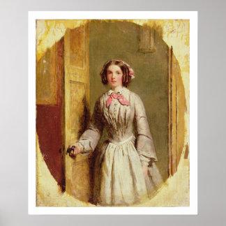 「、鳴りましたか。」、1854年(キャンバスの油) ポスター
