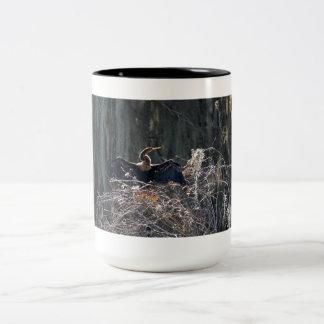 鵜 ツートーンマグカップ