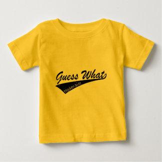 鶏のお尻 ベビーTシャツ