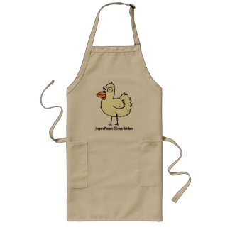 鶏のふ化場または製造プラントの肉屋 ロングエプロン