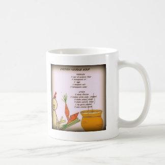 鶏のヌードル・スープのマグ コーヒーマグカップ