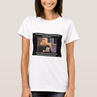 鶏のユーモアのワイシャツ Tシャツ
