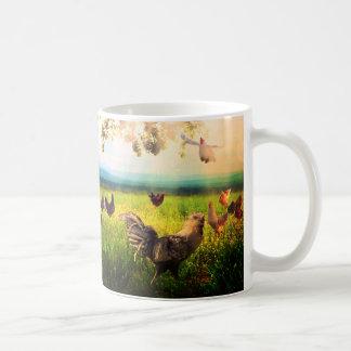 鶏の天国のマグ コーヒーマグカップ