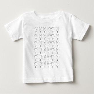 鶏の雑談 ベビーTシャツ