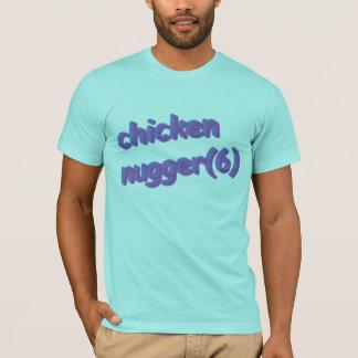 鶏のnugger tシャツ