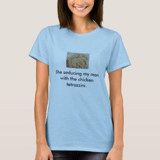 鶏のTetrazziniの誘惑 Tシャツ
