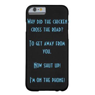 鶏はなぜ実際に道を交差させましたか。 BARELY THERE iPhone 6 ケース