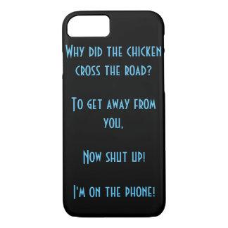鶏はなぜ実際に道を交差させましたか。 iPhone 8/7ケース