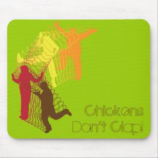 鶏は叩きません! マウスパッド