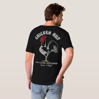 鶏小屋のV首のワイシャツ Tシャツ
