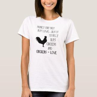 鶏愛 Tシャツ