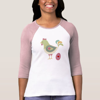 鶏愛Tシャツ Tシャツ