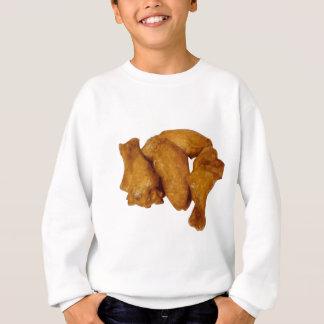 鶏手羽肉のシャキッとしたおいしい スウェットシャツ