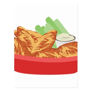 鶏手羽肉 ポストカード