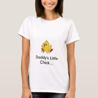 鶏、お父さんの小さいひよこ… Tシャツ