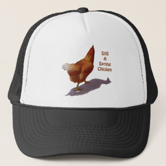 鶏: より古くなること: 春鶏 キャップ