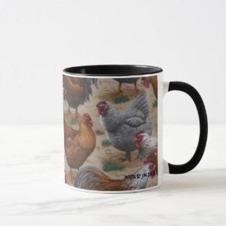 鶏/オンドリのマグ マグカップ