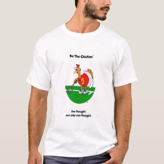 鶏-テニスのTシャツ--があって下さい Tシャツ