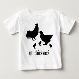 鶏 ベビーTシャツ