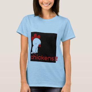 鶏、!! Tシャツ