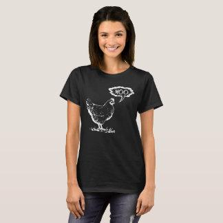 鶏Moo Tシャツ