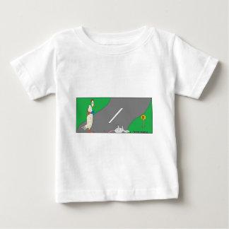 鶏Road.jpg ベビーTシャツ