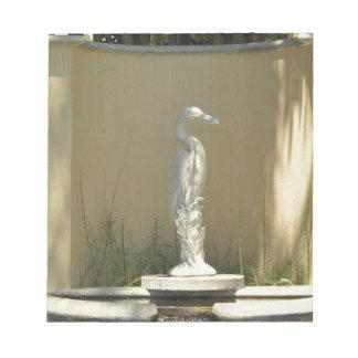 鷲の彫像 ノートパッド