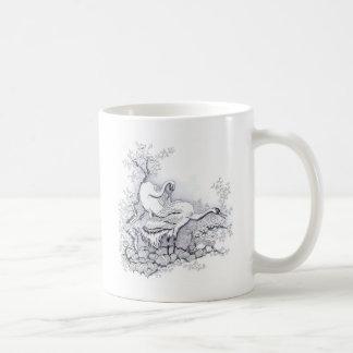 鷲 コーヒーマグカップ