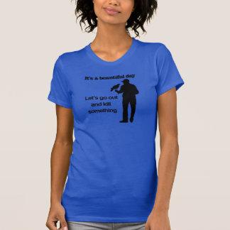 鷹狩のための美しい日 Tシャツ