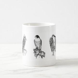 鷹狩のマグ コーヒーマグカップ