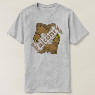 鷹狩の三重の文字 Tシャツ