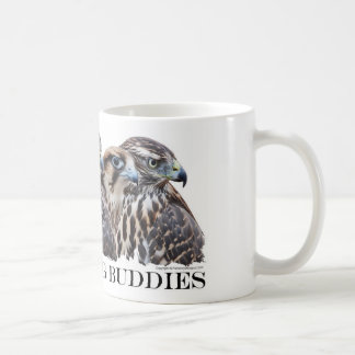 鷹狩の狩りの相棒 コーヒーマグカップ